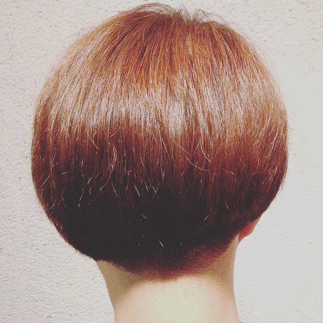Story hair!http://redheads.jp/styles#redhads #hair #美容室 #shorthair